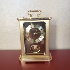 Hamilton carriage desk clock